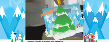 AR Christmas Card