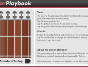 Guitar Playbook